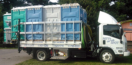 WRF Portable Toilet Rentals Maryland