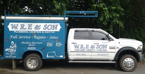 WRF Son Plumbers Carroll County MD